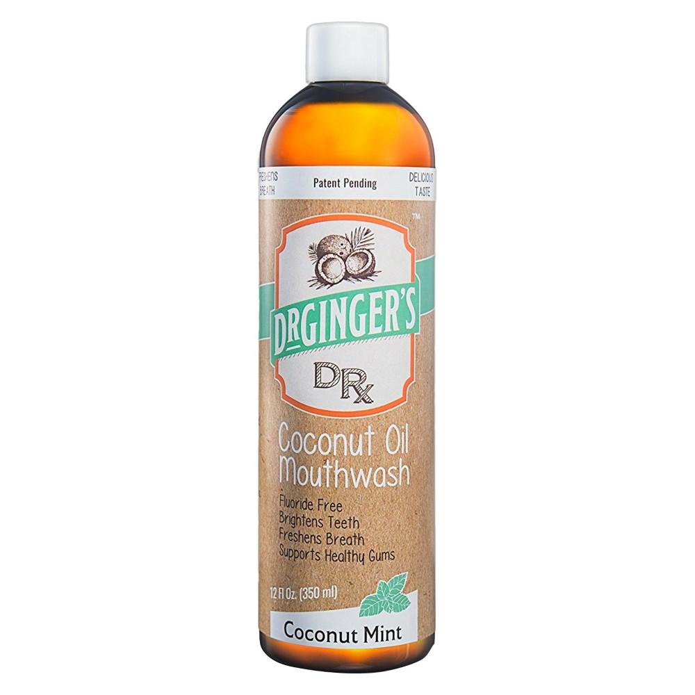 Image of Dr. Ginger's Coconut Mint Mouthwash - 12 fl oz