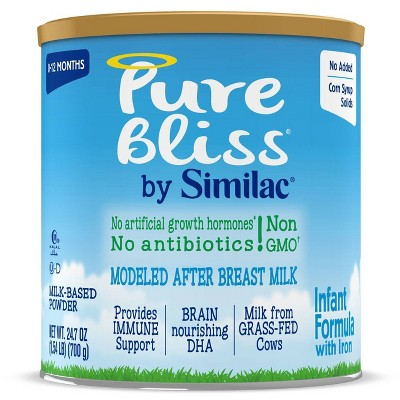 Pure Bliss by Similac Non-GMO Infant Formula Powder - 24.7oz