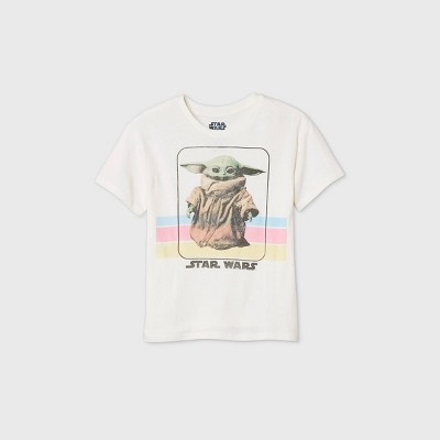 Women's Star Wars Baby Yoda Short Sleeve Graphic T-Shirt - Natural