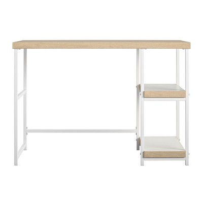 RealRooms Kimberly Desk with Reversible Shelves