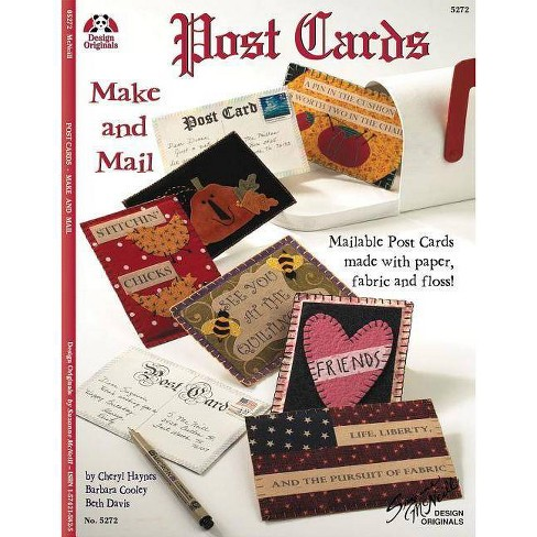 Postcards: Make and Mail - (Design Originals) by  Cheryl Haynes (Paperback) - image 1 of 1