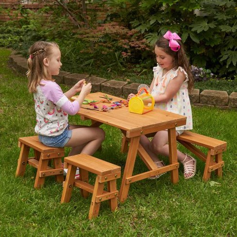 Kidkraft Outdoor Picnic Table Set Target, Outdoor Kids Table