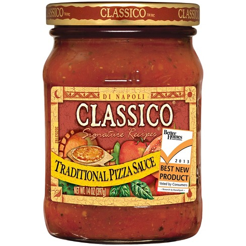 Classico Traditional Pizza Sauce 14oz - image 1 of 3