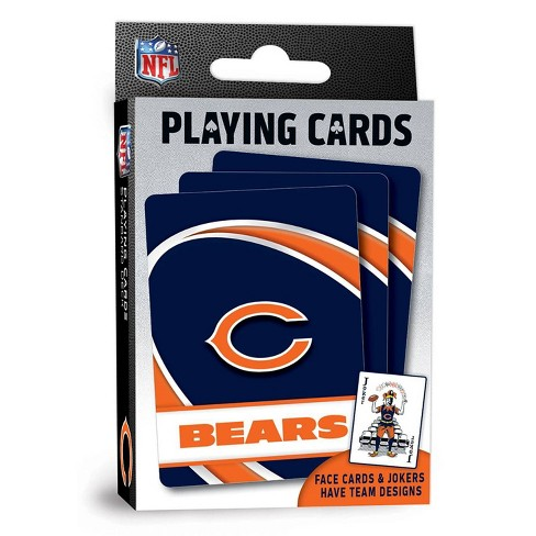 NFL Chicago Bears Playing Cards - image 1 of 4