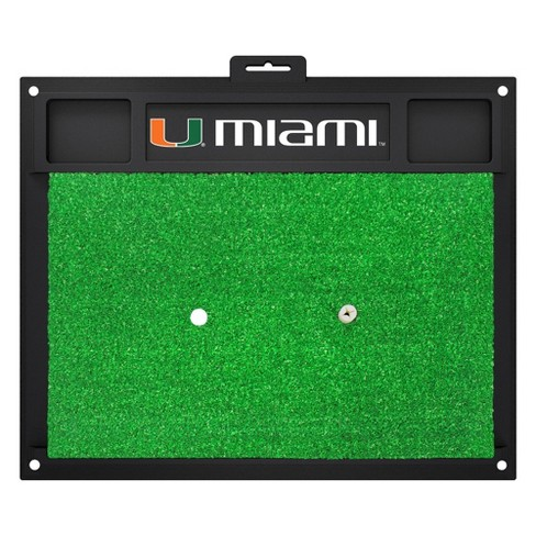 Miami Hurricanes Fan mats Golf Hitting Mat - image 1 of 1