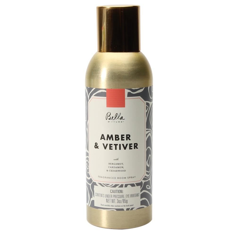 Image of Air Freshener Amber Vetiver 3oz - Bella by Illume, Gray
