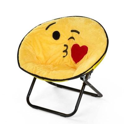 Emoji Adult Saucer Chair - Idea Nuova
