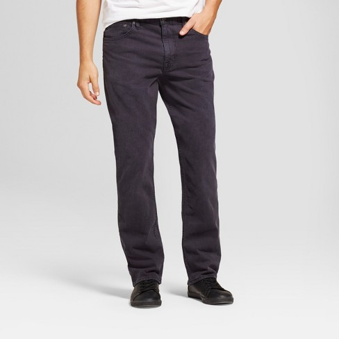 Men's Straight Fit Jeans - Goodfellow & Co™ Slate Blue - image 1 of 5