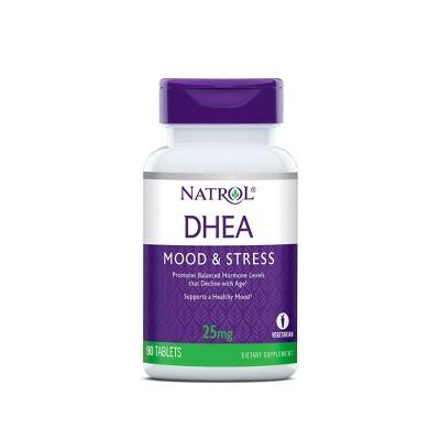 Natrol DHEA 25mg Mood & Stress Tablets - 90ct