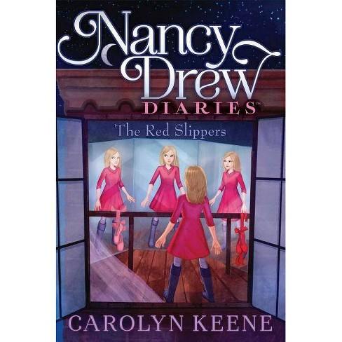 The Red Slippers, Volume 11 - (Nancy Drew Diaries) by  Carolyn Keene (Paperback) - image 1 of 1