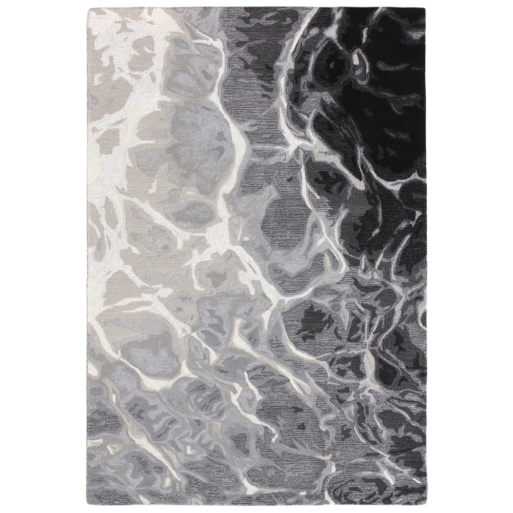 """Image of """"8'3""""""""X11'6"""""""" Galaxy Tufted Area Rug Black - Liora Manne"""""""