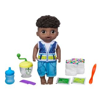 Baby Alive Sweet Spoonfuls Baby Doll Boy - African American