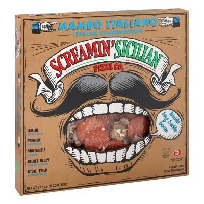Screamin' Sicilian Mambo Italiano Frozen Pizza - 23.5oz