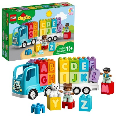 LEGO DUPLO My First Alphabet Truck Educational Toy for Toddlers 10915
