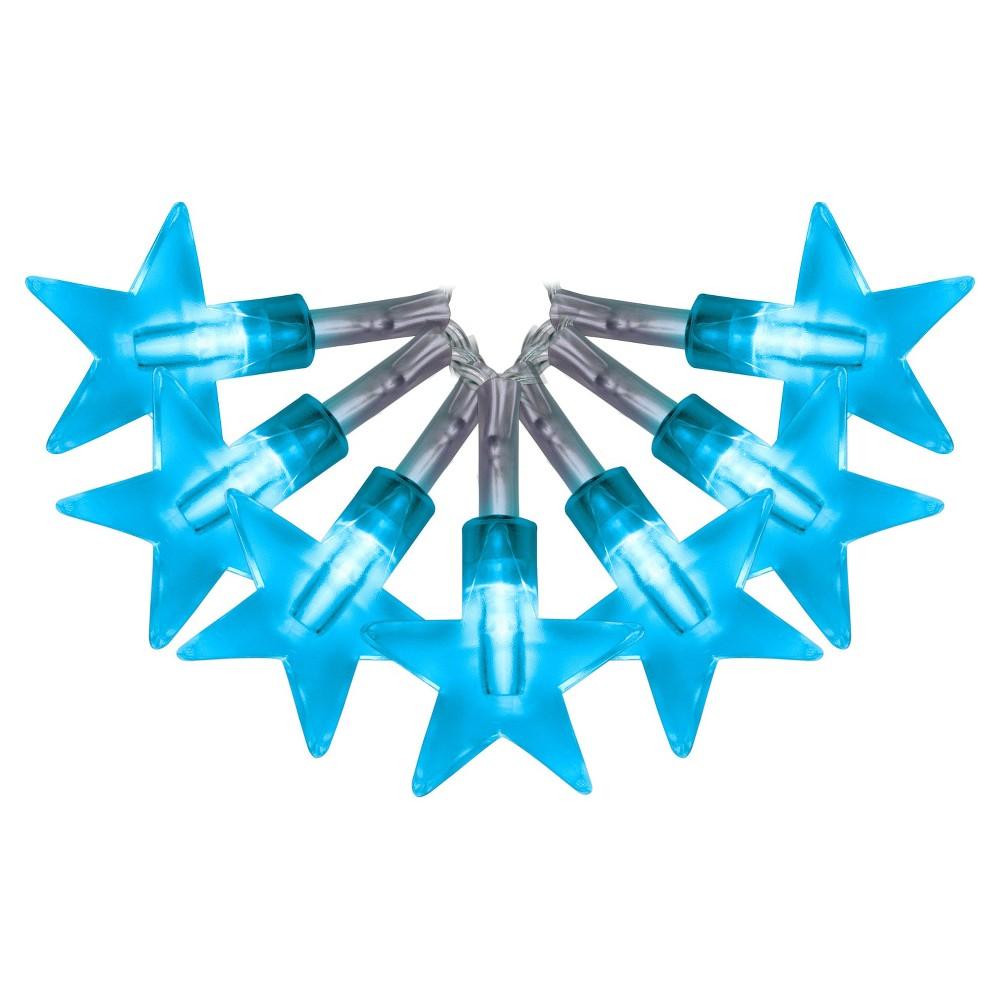 Image of Star Shape LED String Lights 12ct - Lava