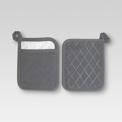 Pot Holder Gray - Threshold™
