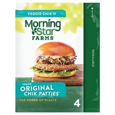 Morningstar Farms Original Frozen Chik Veggie Patties - 10oz