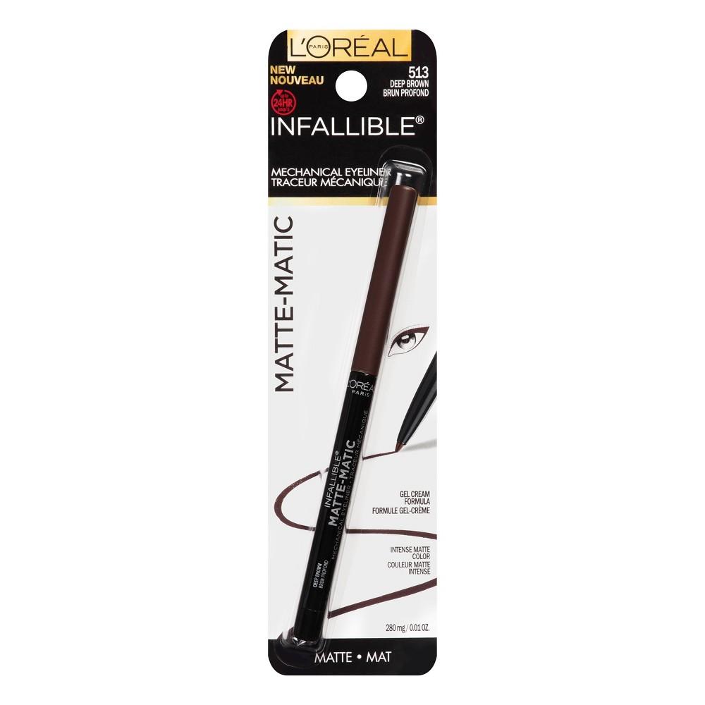 Image of L'Oreal Paris Infallible Mat-Matic Liner 513 Brown .01oz