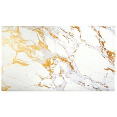 "Christian Siriano 20"" x 36"" New York Marble Kitchen Mat"