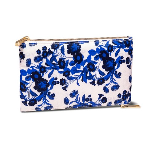 Sonia Kashuk™ Zip Purse Etched Floral Pink - image 1 of 3