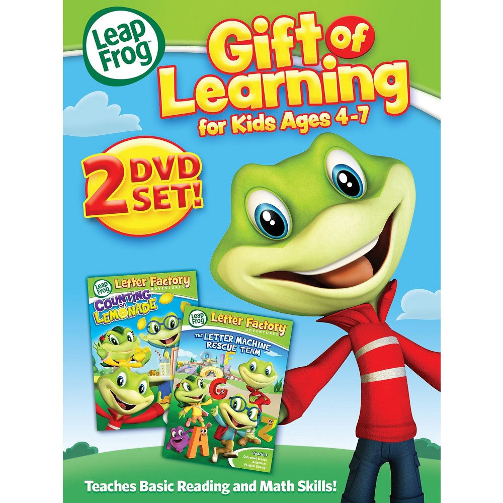 Leapfrog:4 To 7 (Dvd), Movies
