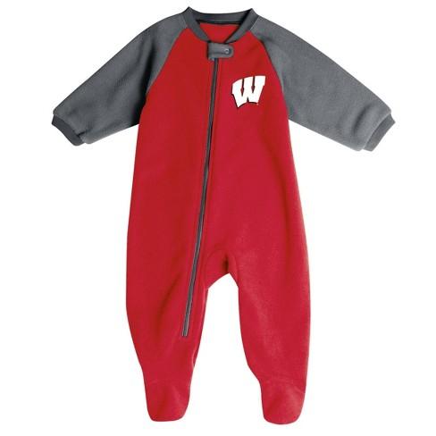 NCAA Wisconsin Badgers Infant Blanket Sleeper - image 1 of 2