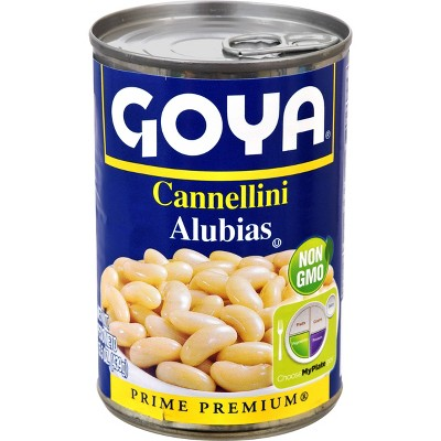 Beans: Goya Cannellini Canned