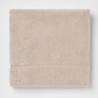 Performance Texture Bath Sheet Tan - Threshold™
