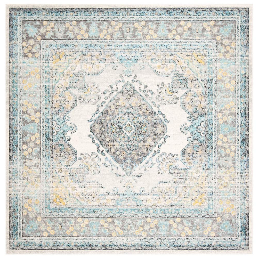 6 39 7 34 X6 39 7 34 Marjory Rug Gray Blue Safavieh