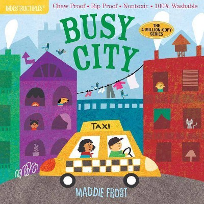 Indestructibles: Busy City - (Hardcover)