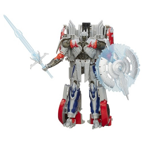 Transformers Platinum Silver Knight Collector VER Exclusive - image 1 of 11