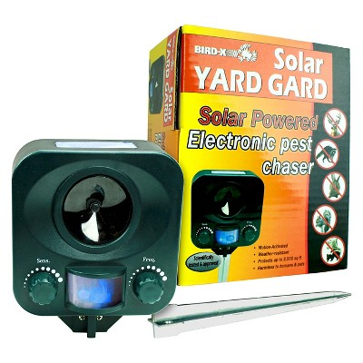 Solar Yard Guard Ultrasonic Animal Repeller - Bird-X