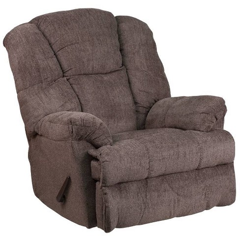 Contemporary Hillel Chenille Rocker Recliner - Riverstone Furniture Collection - image 1 of 4