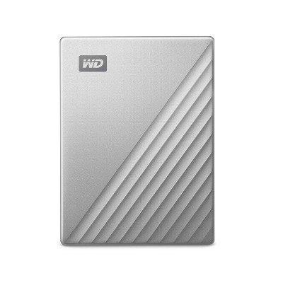 Western Digital My Passport 4TB - Ultra Mac Silver
