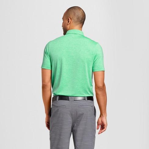 34688cfc8 Men's Spacedye Tech Golf Polo Shirt - C9 Champion® Milkglass Green : Target