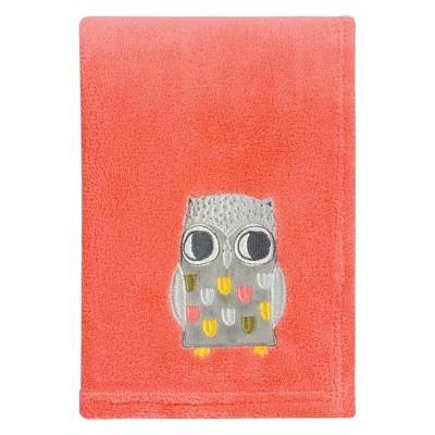 Trend Lab® Plush Baby Blanket - Olive Owl