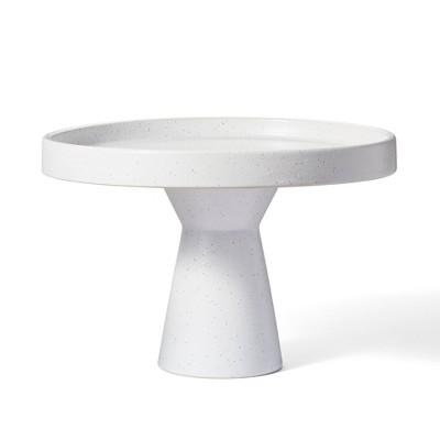 "10"" Ceramic Plant Stand White - Hilton Carter for Target"