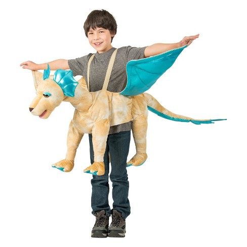 Kids' Royal Gold Ride-In Dragon Halloween Costume - image 1 of 1