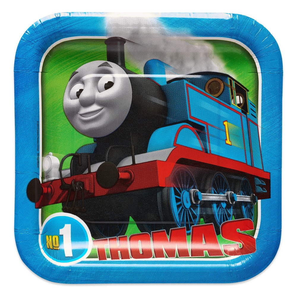 8ct Thomas & Friends Snack Plate, Multi-Colored