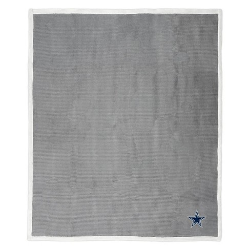 NFL Dallas Cowboys Waffle Trend Throw Blanket - image 1 of 3