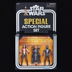 SDCC 2018 Star Wars The Vintage Collection Doctor Aphra Comic Set Action Figures
