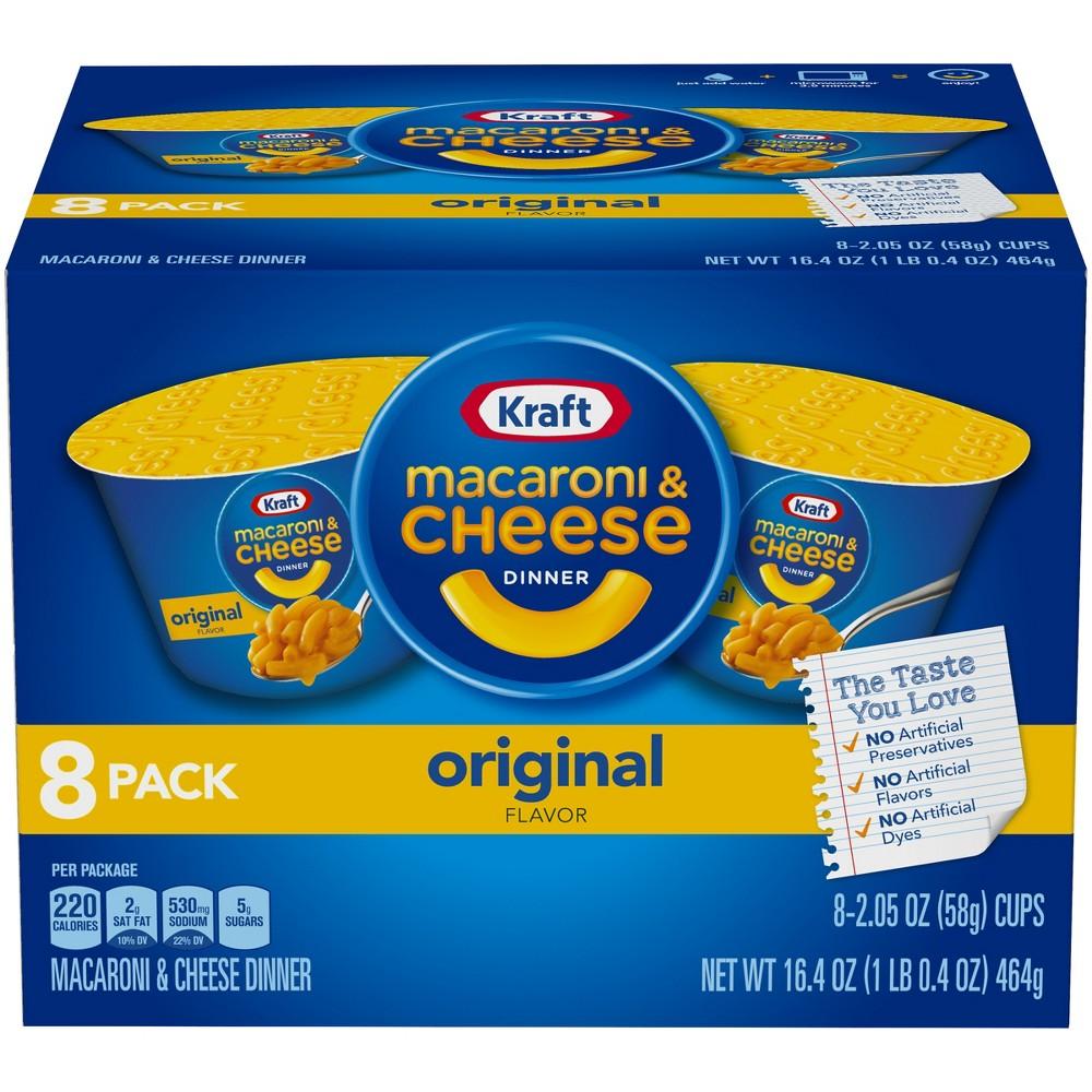 Kraft Mac & Cheese Cups 16.4oz - 8 pk