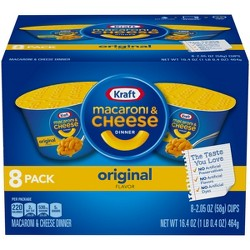 Kraft Mac & Cheese Cups 16.4oz - 8 pk