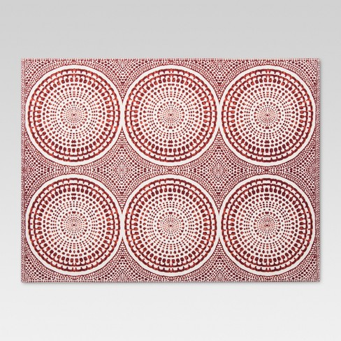 Red Medallion Kitchen Textiles Placemat - Threshold™ - image 1 of 1