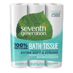 Seventh Generation 100% Recycled Toilet Paper - 24 Rolls
