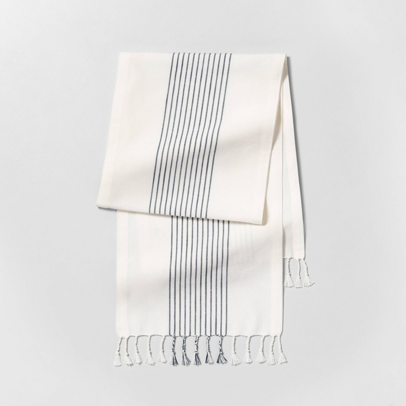 Stripe Runner - Sour Cream / Blue - Hearth & Hand™ with Magnolia - image 1 of 2