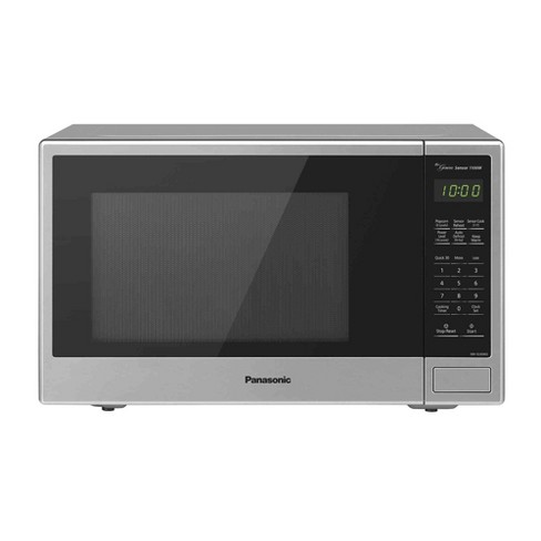 Panasonic 1.3 Countertop Microwave Oven Stainless Steel - image 1 of 3