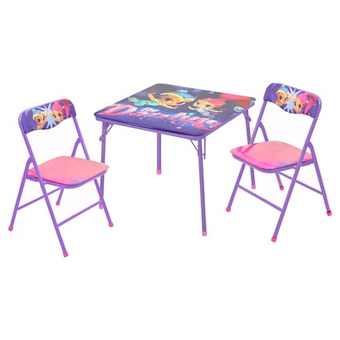 Shimmer And Shine 3 Pc Table Chair Set