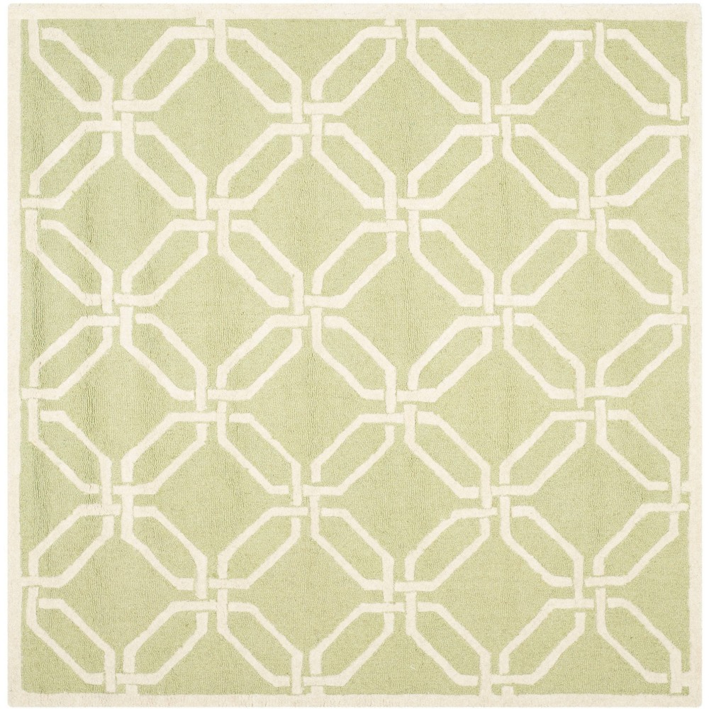 Bellina Textured Area Rug - Lime/Ivory (Green/Ivory) (6' X 6') - Safavieh