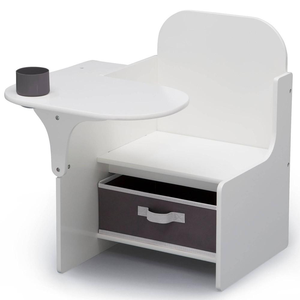 Delta Children Mysize Chair Desk With Storage Bin Gray